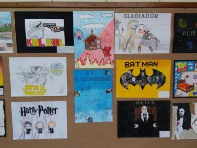 Apresentação dos cartazes do Minuteen realizado pelo Ensino Médio