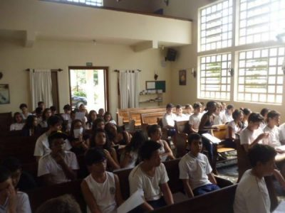 Dia Mundial de Oração com o Ensino Fundamental II