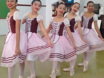 Apresentação do Ballet Juvenil II