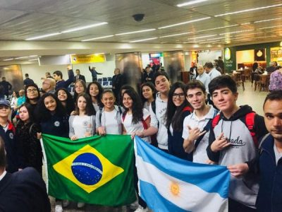 Alunos Intercâmbistas da Argentina