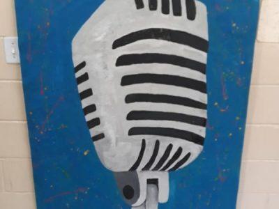 Painéis gigantes realizado pelos alunos do 3° EM