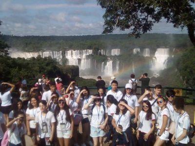 Visita às Cataratas do Iguaçu